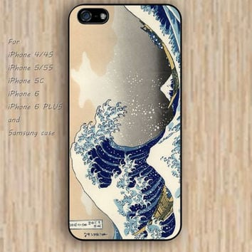 iPhone 5s 6 case Wave Dream catcher colorful Japanese phone case iphone case,ipod case,samsung galaxy case available plastic rubber case waterproof B436