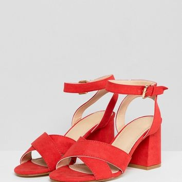 Pimkie Block Heeled Sandal at asos.com