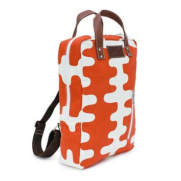 Laptop Backpack - Echo Tangerine