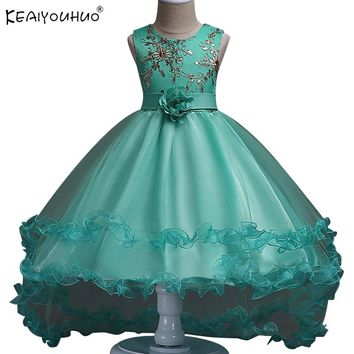 2018 Summer Easter Dresses For Girls Clothes Children Princess Dress Rapunzel Aurora Cinderella Dress Carnaval Costume For Kids