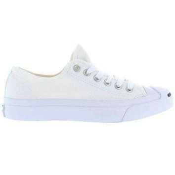 LMFUG7 Converse Jack Purcell Low - White Canvas Low-Top Sneaker