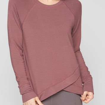 Criss Cross Sweatshirt | Athleta