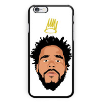 New J Cole Born Sinner Print On Hard Plastic Case For iPhone 6s, 6s plus