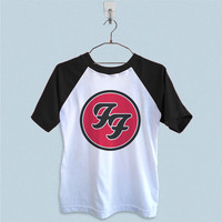 Raglan T-Shirt - Foo Fighters Logo