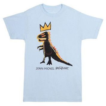 Jean-Michel Basquiat Pez Dispenser Dino Art Licensed Adult Unisex T-Shirts