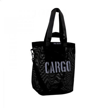 CARGO by OWEE M-size bag - BLACK MESH