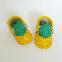 Sweet Pineapple Moccasin