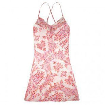 Buy Plum Pretty Sugar luxury lingerie - Plum Pretty Sugar Sweet Love and Yonderflies Short Chemise  | Journelle Fine Lingerie