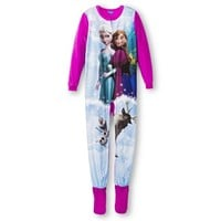 Disney® Frozen Girls' Footed Sleeper