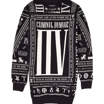 Criminal Damage Scorpion Long Line Sweat