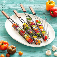 Kabob Grilling Baskets - Set of 4 | bbq utensils