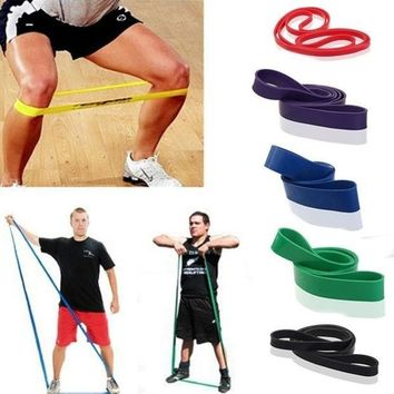 PEAPIX3 New Resistance Bands Weight Training Fitness Exercise Loop Crossfit Strength = 1933307460