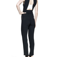Tabit Banded-Back Jumpsuit