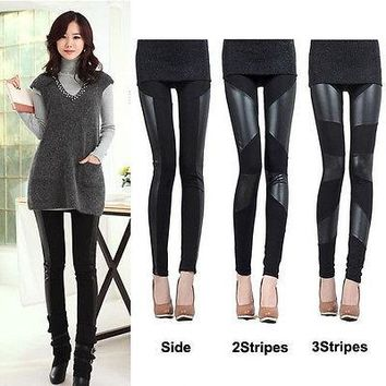 arrival HOT Sale Womens Faux Leather  Leggings