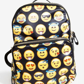Emoji Rockstud Backpack