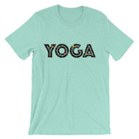 Power of Yoga Unisex short sleeve t-shirt