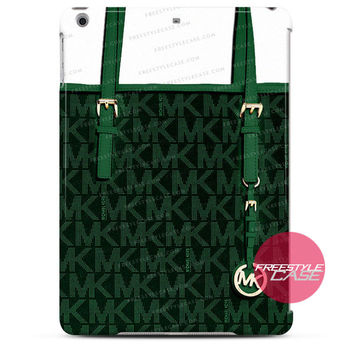Michael Kors MK Bag Dark Green iPad Case 2, 3, 4, Air, Mini Cover