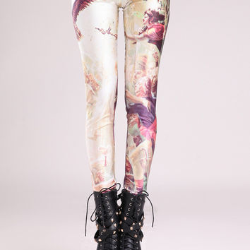 Napoleon Print Leggings
