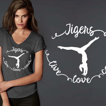 Gymnastics Coach Personalized T-shirt