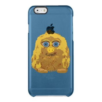Cute Yellow Yeti Bigfoot With Big Blue Eyes Uncommon Clearly™ Deflector iPhone 6 Case