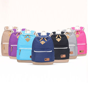 College Casual Comfort On Sale Hot Deal Back To School Stylish Canvas Fashion Classics Lovely Backpack [8384603591]