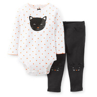 Halloween 2-Piece Bodysuit & Pant Set
