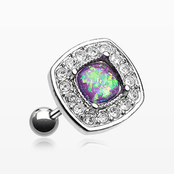 Opal Sparkle Essentia Cartilage Tragus Earring