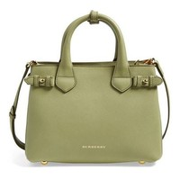 Burberry: 'Small Banner' Leather Tote
