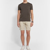Incotex - Slim-Fit Linen and Cotton-Blend Shorts | MR PORTER