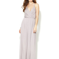 Rachel Pally Branden Jersey Halter Maxi Dress