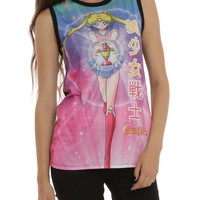 Sailor Moon Japanese Sublimation Girls Top