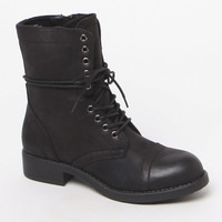 Mia Barrie Lace-Up Combat Boots at PacSun.com