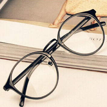 2017 Men Women Nerd Glasses Unisex Retro Spectacles