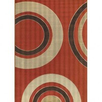 Chandra Rugs Machine-made Indoor / Outdoor Torino TOR-9003 Rug - TOR-9003 - White and Tan Rugs - Area Rugs by Color - Area Rugs