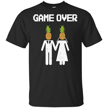 Pineapple Game Over Funny Wedding Bachelor Party