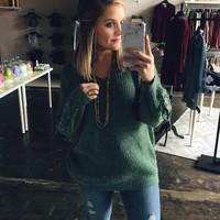 Lights Out Sweater