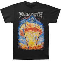 Megadeth Men's  Countdown To Extinction T-shirt Black