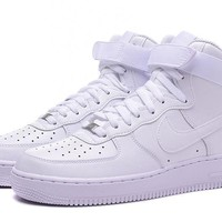 qiyif Nike Air Force 1 HIGH 07 AF1 White For Women Men Running Sport Casual Shoes Sneakers