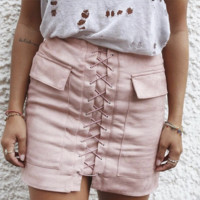 Womens Solid Skirts
