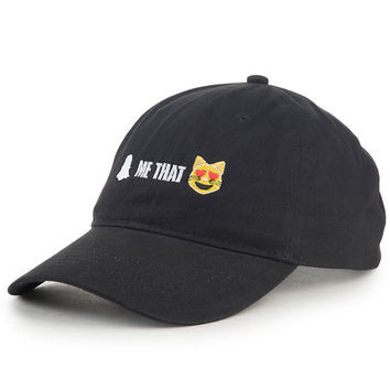 The Snap Me Cap in Black