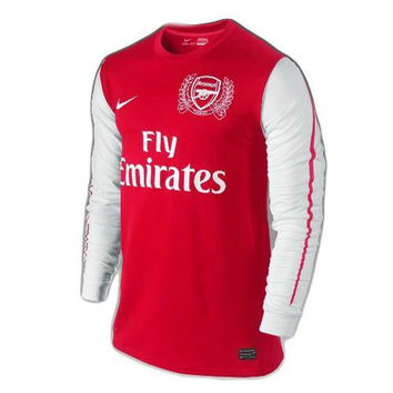 Arsenal Jersey Home Long Sleeve 2011-2012