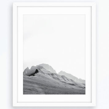 Mountain Photography Printable Poster, Scandinavian Style, Nature Prints, Nature Photos, Nature Photography Prints, Wall Art, Home Decor