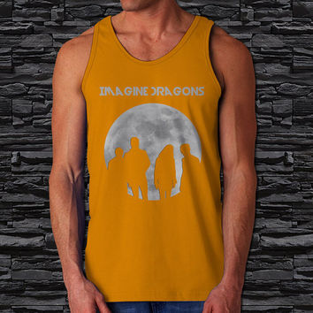 Indie Rock Imagine Dragons Radioactive Men's Tank Top ( Color Available)