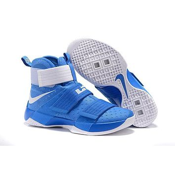 nike lebron soldier 10 ep kentucky basketball shoes us7 12  number 1