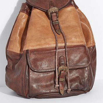 Seville Leather Backpack