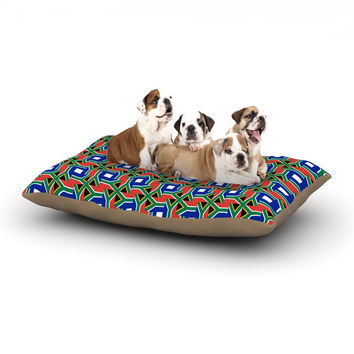 "Bruce Stanfield ""South Africa"" Multicolor Dog Bed"
