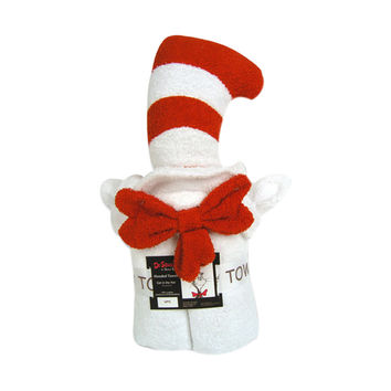 Dr. Seuss Character Hooded Towel -Cat In The Hat