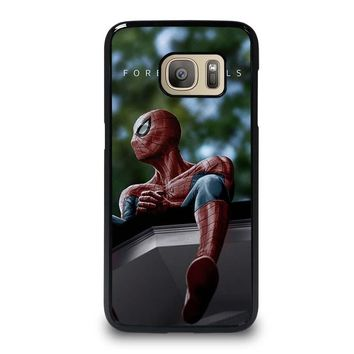SPIDERMAN J. COLE FOREST HILLS Samsung Galaxy S7 Case Cover