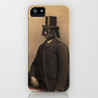 Lord Vadersworth iPhone & iPod Case by Terry Fan