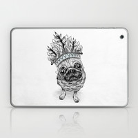 Indian Pug Laptop & iPad Skin by LouJah